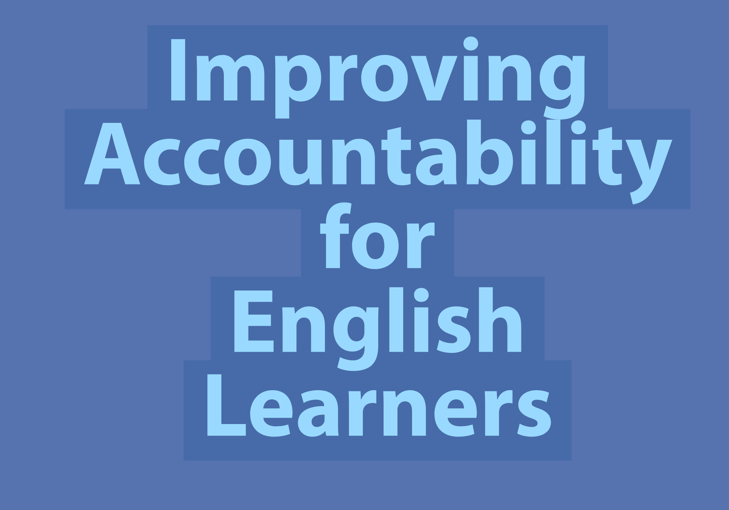 Improving Accountability (1)